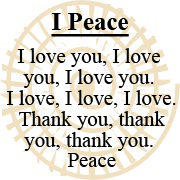 i-peace mantra logo