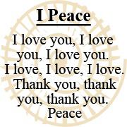 i-peace mantra logo